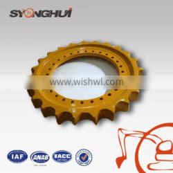 Robust sprocket roller excavator parts for drive sprocket R375 cheap sprocket