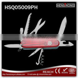 Hot Sell Plastic Handle Multifunction Pocket Knives