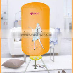 Anion Release Space Saving PTC Electric Heated Clothes Dryer and Towel Rack