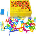 promotional colored beech wood material erasable magnetic drawing board double side magnet board