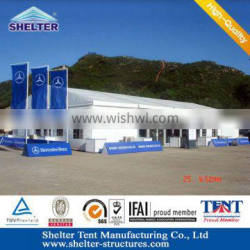 Shanghai Aluminum alloy(4 channels) structure outdoor tent for outdoor entertainment space