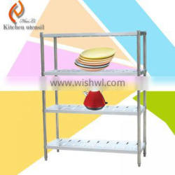 Vegetable kitchen storage rack/ food stainless steel kitchen storage shelf/ kitchen storage design