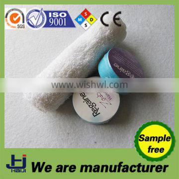 100%cotton compressed magic towel and woven technics