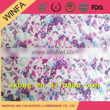 Best selling Soft Knitted microfiber polyester spandex fabric