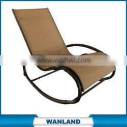 aluminium french recliner indoor chaise lounge