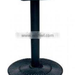 factory black cast iron dining table base (F24)