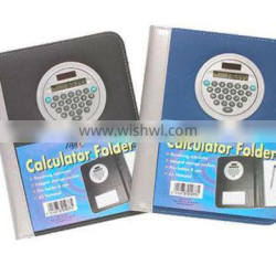 A5 Conference Folder Portfolio Notebook With Calculator