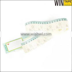 Medical hospital 100% latex-free Tyvek Paper Tape Measure For Pregnant Measurement