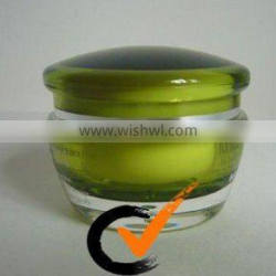 Acrylic Cosmetic Nail Care Gel Cream Round Jars