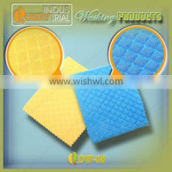 Microfiber material strong cleaning washing sponge for dish with free sample in Wuxi market