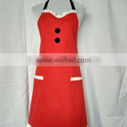 customer embroidered or printed kitchen uniforms apron