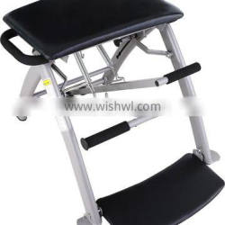 Women fitness pilates equipment yoga folding chair with strong springs for sale