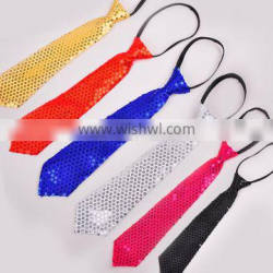 wholesale cheap party Sequins Necktie