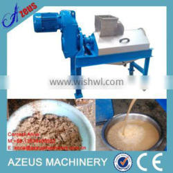 Waste recycling Food Processor for food waste/food waste dewater machine