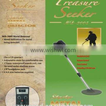 Deep Searching Underground Metal Detector MD3005 for coin detecting