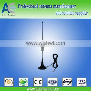Wide Band High Gain Magnetic Mount Whip Antenna