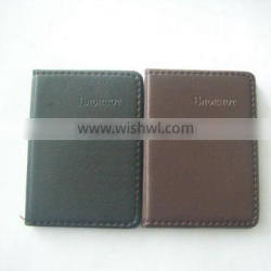 leather cover notebook