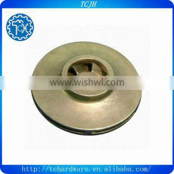 Investment Casting/Lost Wax Casting Part, Impeller, Made of Stainless Steel, with Zinc Plating