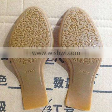 Rubber outer sole manufacture