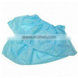 disposable blue medical shoe covers