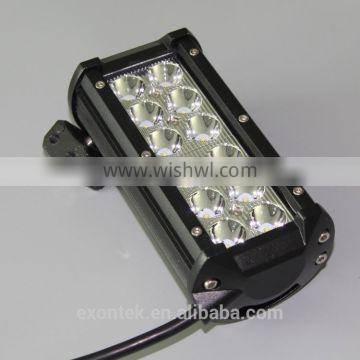 Hot sale 4x4 accessories 36W 7 inch LED light bar spot 12 volt easy to install plug and play
