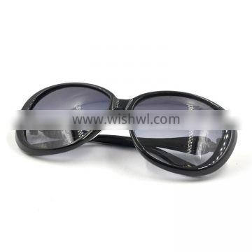 2016 fashion new model sunglass butterfly gradient lenses rhinestone sunglasses