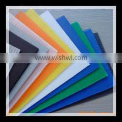 High Quality Lightweight Plastic polypropylene Hollow Sheet