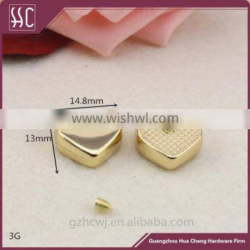 zipper end, metal gold zipper end,Guangzhou wholesale zipper end