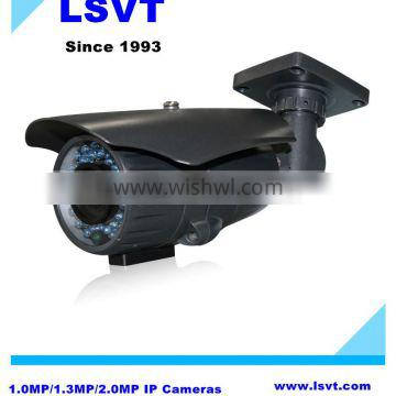 LSVT IP261 high configuration 1.0MP/1.3MP/2.0MP waterproof IP bullet cameras, with IR cut, POE, Support Onvif