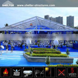 Long life span 2000 person party tent