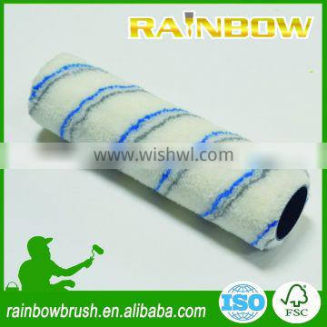CHEAP two stripe polyester cage style paint roller