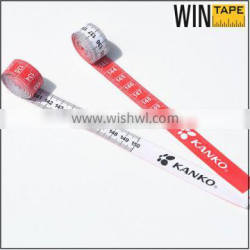 Soft tearproof vinyl measure cloth size tape measure Quality Choice