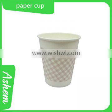 hot sell guangzhou printing waterproof paper cup with customized design and free logo printing, DL724