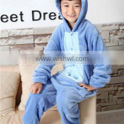 2016 kids pajamas with stitch for cosplay costume