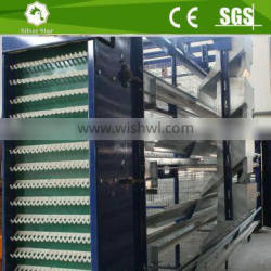 Poultry equipment automatic H type design layer chicken cage