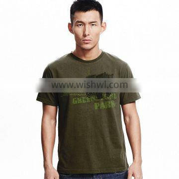 Bear Printed Tee For Men Customized Service OEM order
