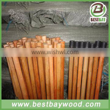 10 days fast delivery varnish coated wooden broom handle