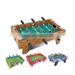 27 inch Tabletop Soccer Football Table Game Kis Game Set with Legs wooden ,red , green sky blue 4 color avaible
