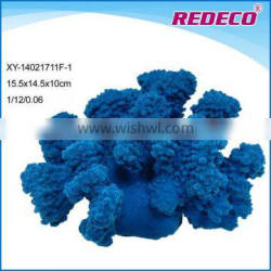 Resin artificial coral reefs