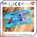 blue stitch silicone cell phone cover