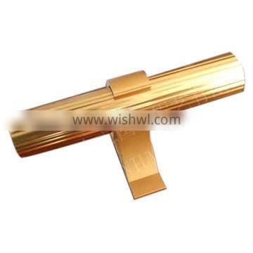 golden anodized aluminum profiles