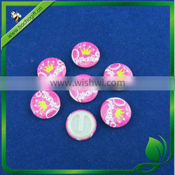 Button Badge with plastic clip