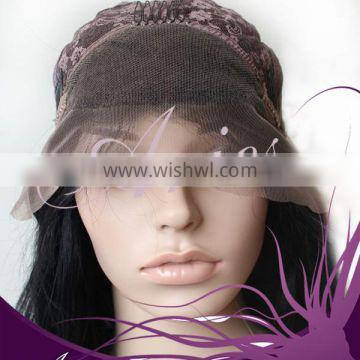 Front Lace Wig Full Wigs 100% Remy Indian Human Hair