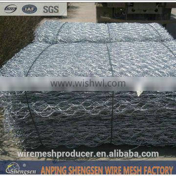 pvc coated gabion box for fencing wall