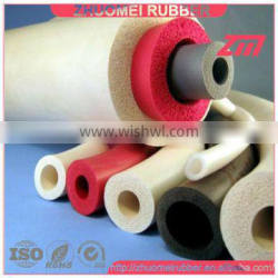 Closed Cell silicone sponge tube
