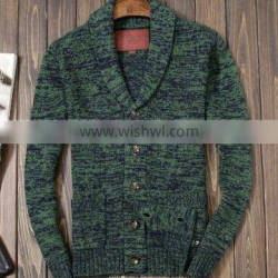New Lapel Mens Cardigan Sweater Mens Fashion Knitted Sweater Coat