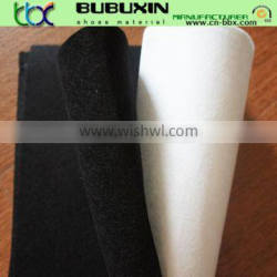 China manufactuer 100% polyester PK nonwoven fabric for shoes lining