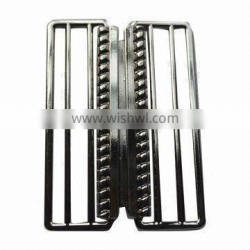 Wide Metal Belt Buckle,Made of Zinc alloy,Plating finish,Customized Sizes/Colors Welcomed
