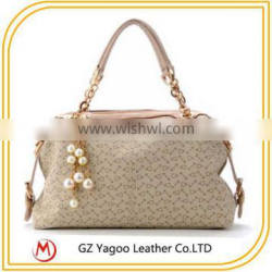 2014 fashion women hand bag leather
