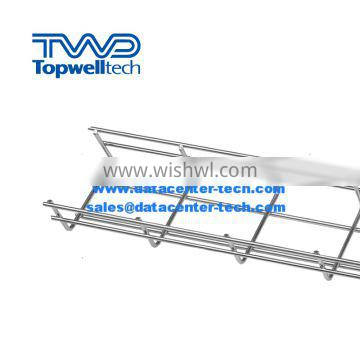 Wire Mesh Cable Tray 50mm-800mm Powder Coating
